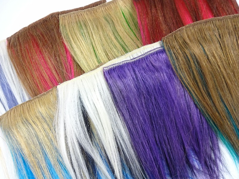 Color Swatches for New Adore Hair Dye Colors - I Kick Shins